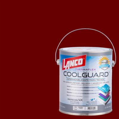 Sellador para techos coolguard 1 galon rojo
