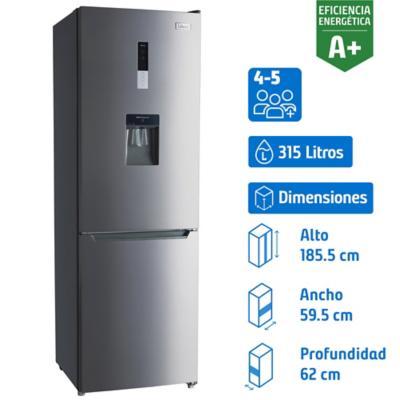Refrigerador no frost 315 litros con dispensador