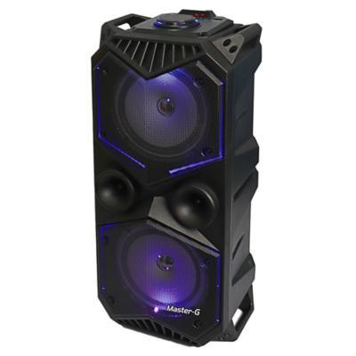 Parlante karaoke bluetooth doble bocina