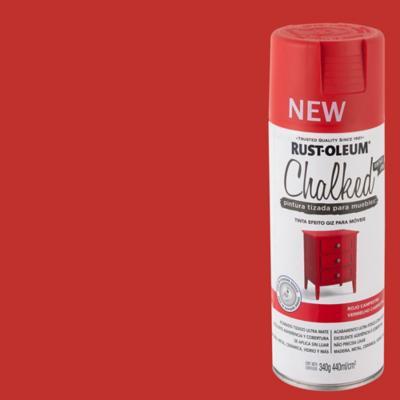 Chalked pintura tizada en aerosol Rojo Campestre 340g