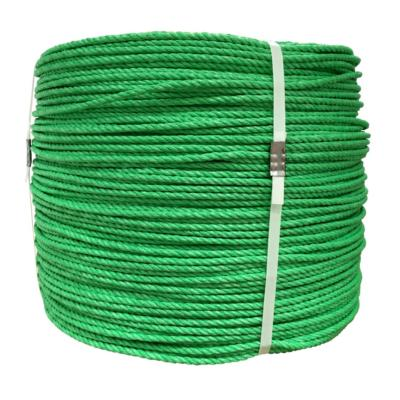 Rollo cuerda polipropileno 6 mm verde