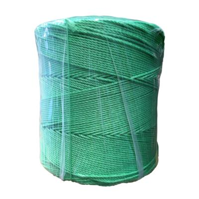 Rollo cuerda polipropileno 3 mm verde
