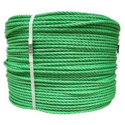 Rollo cuerda polipropileno 8 mm verde