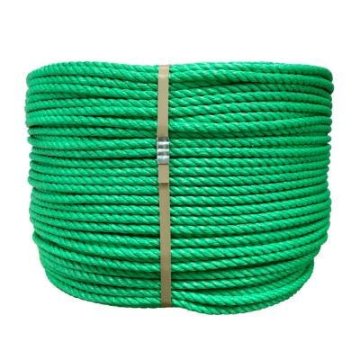 Rollo cuerda polipropileno 10 mm verde