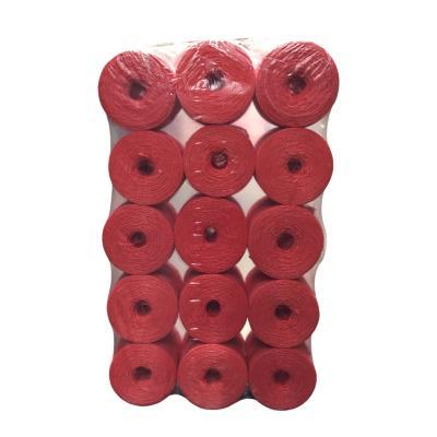 Bobina cordel tipo 1000 1 kg rojo - 15 unidades