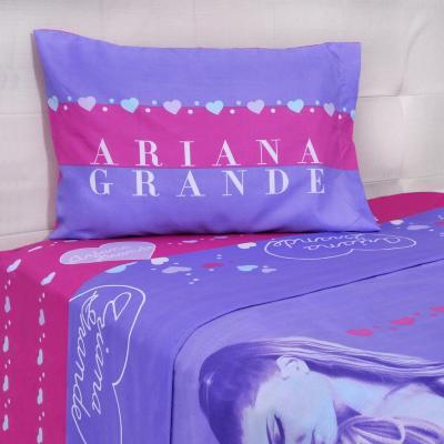 Sábana multicolor Ariana Heart Dream 1,5 plazas