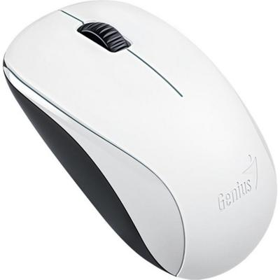 Mouse inalámbrico blanco USB