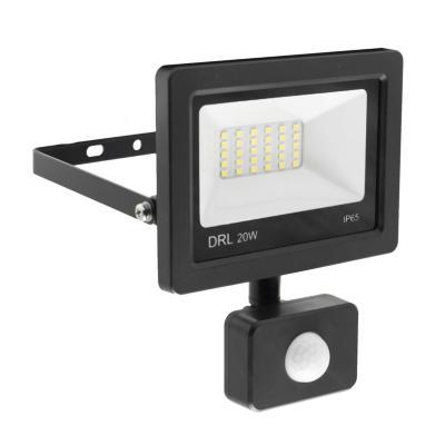Reflector Led ultra plano con sensor 20 W luz día