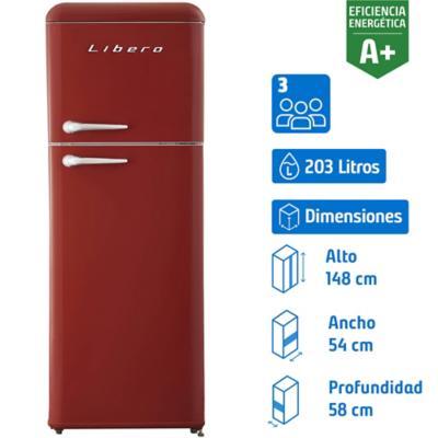 Refrigerador frío directo 203 litros Retro Style