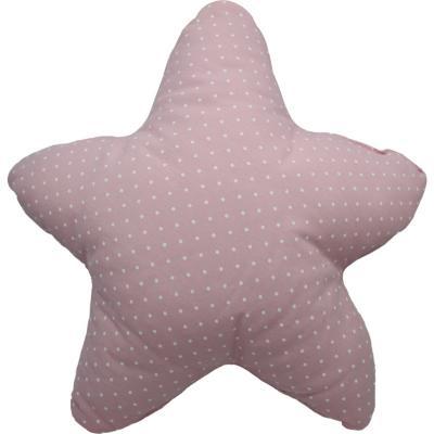 Cojín estrella rosado 50x50 cm