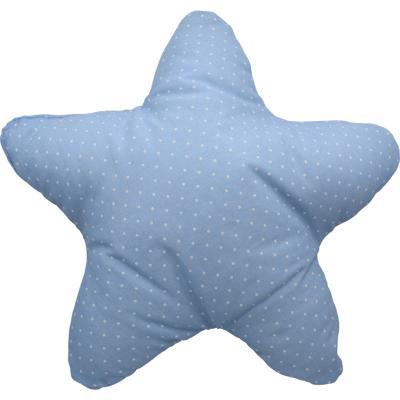 Cojín estrella celeste 50x50 cm