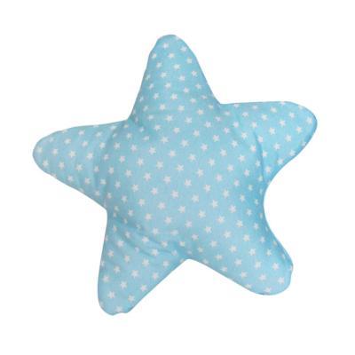 Cojín estrella star celeste 50x50 cm