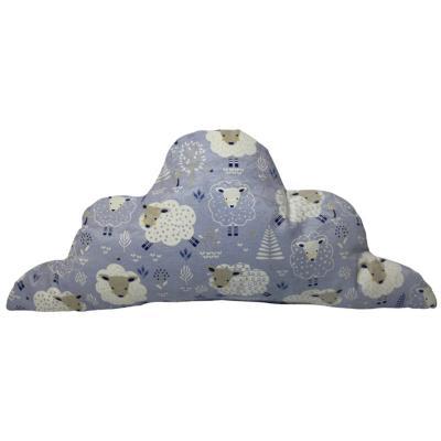 Cojín nube aqua Oveja celeste 60x25 cm