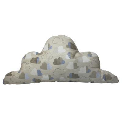 Cojín nube aqua nubes 60x25 cm