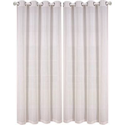 Set de velos Zurich 140x220cm blanco