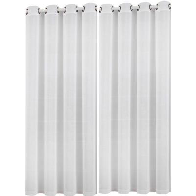 Set de velos Tokio 140x220cm blanco