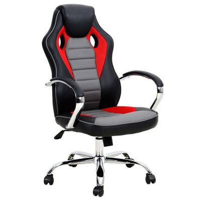 Silla gamer reclinable roja
