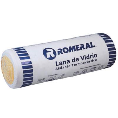 Lana vidrio 50 mm 0,6x10 m 1u