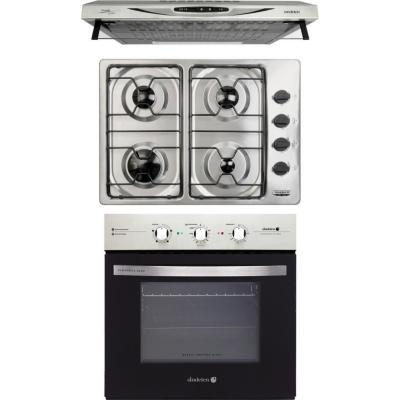 Kit horno eléctrico + encimera + campana