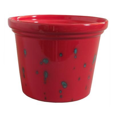 Macetero napoli rojo 21 cm