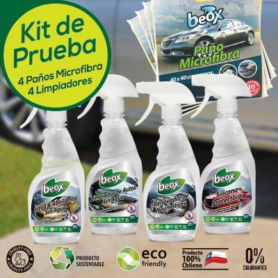 Kit de prueba lavado de auto sin agua