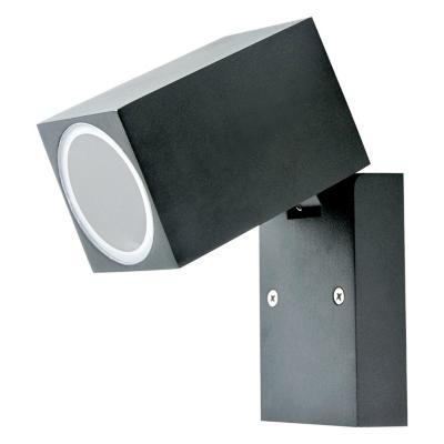 Aplique cubox aluminio negro ip44 gu10 s/a