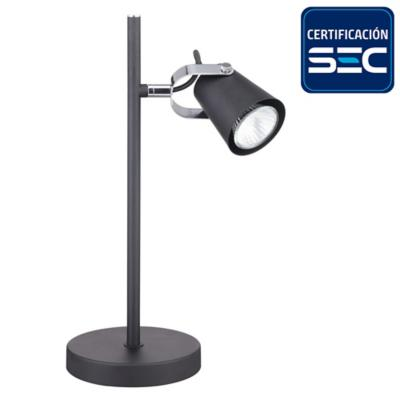 Lámpara de mesa negro mate