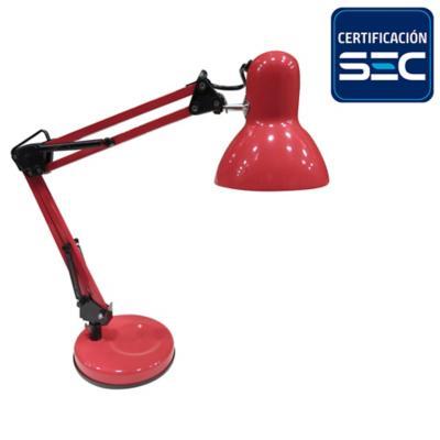 Lámpara de escritorio 40 W E27 Rojo
