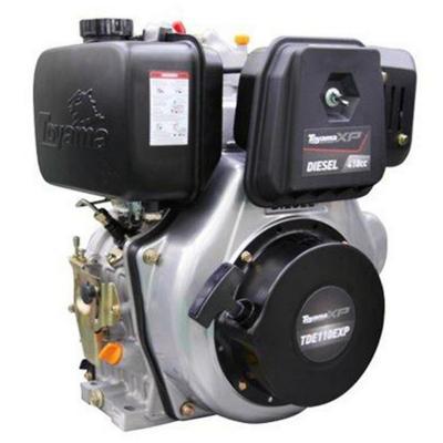 Motor a diesel 10 HP partida eléctrica