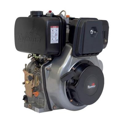 Motor a diesel 13 HP partida electrica