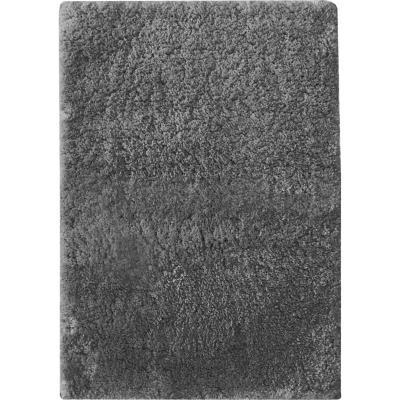 Piso baño 48x75 cm poliéster negro