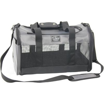 Bolso de viaje 45x27x27 cm tela gris