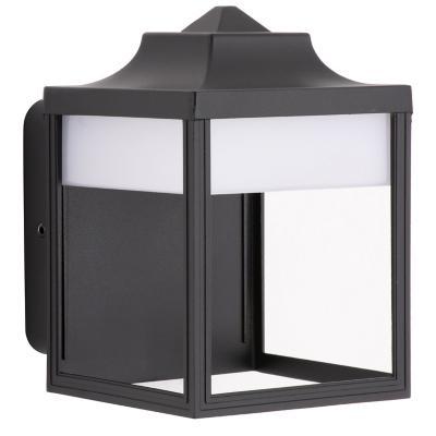 Aplique  Lutec 9w 3000k ip54 negro