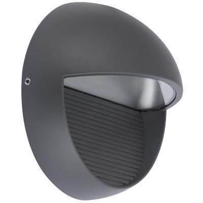 Aplique  Lutec 9w 4000k ip54 negro