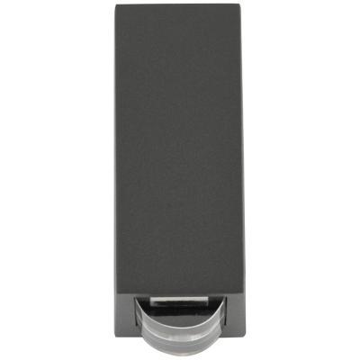 Aplique  Lutec 6w 4000k ip54 negro