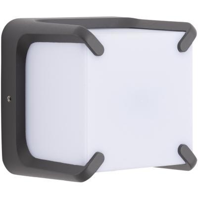 Aplique  Lutec 11w 3000k ip54 negro