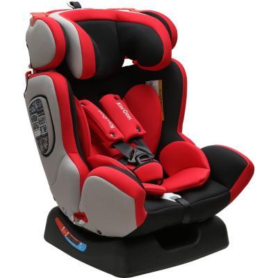 Silla de auto negro/rojo