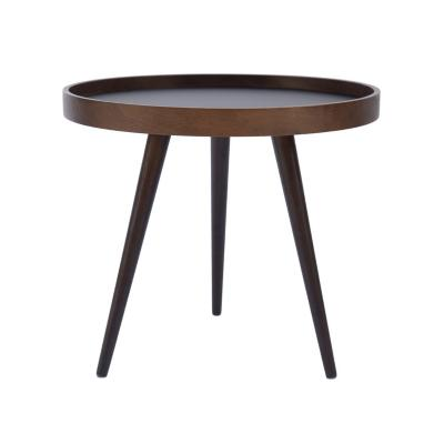 Mesa lateral praga 45x55 cm negro