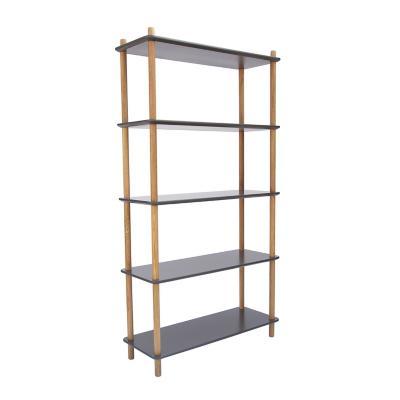 Librero arbon 150x80x30 cm gris