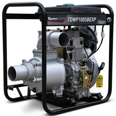 "Motobomba a diesel 4"" 10 HP  p. eléctrica"