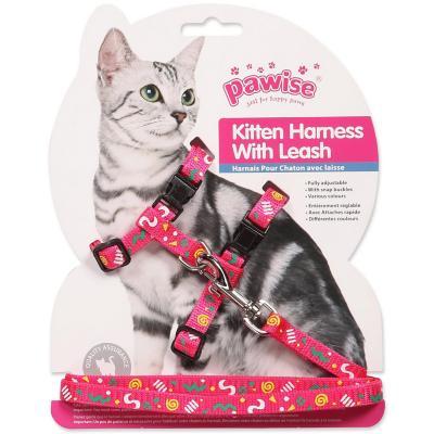 Arnés con trailla para gato diseño