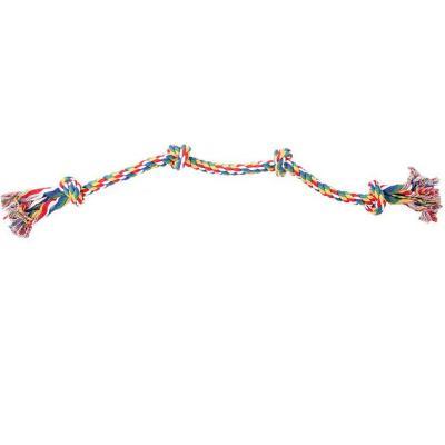 Cuerda nudos para perro 91 cm multicolor