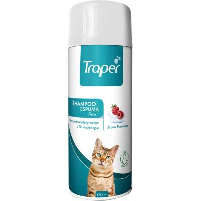 Shampoo Espuma para Gato Traper 170 ml