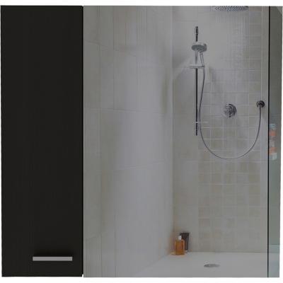 Botiquín 60x14,9x60 cm negro