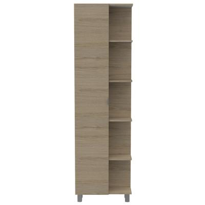 Mueble de baño 51,2x21,5x178 cm rovere