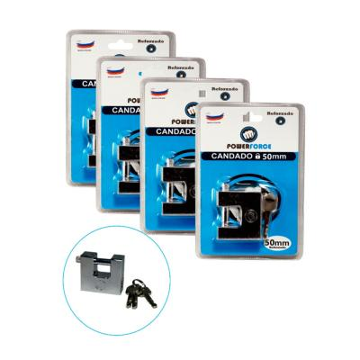 Pack 4 candados de 50 mm sandy reforzado