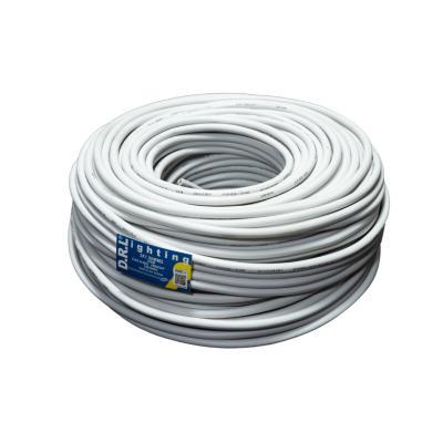 Cordón 3x1,5 mm 100 metros H05VV-F blanco
