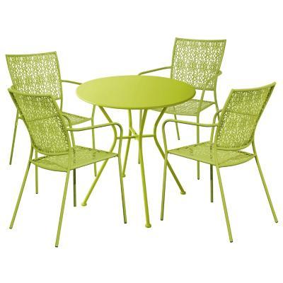 Juego comedor terraza Bellagio 4 personas