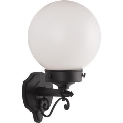 Farol aplique bolo globo 20 cm 1 luz