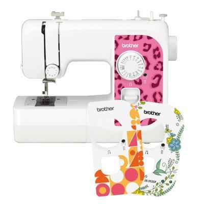 Máquina de coser eléctrica mecánica